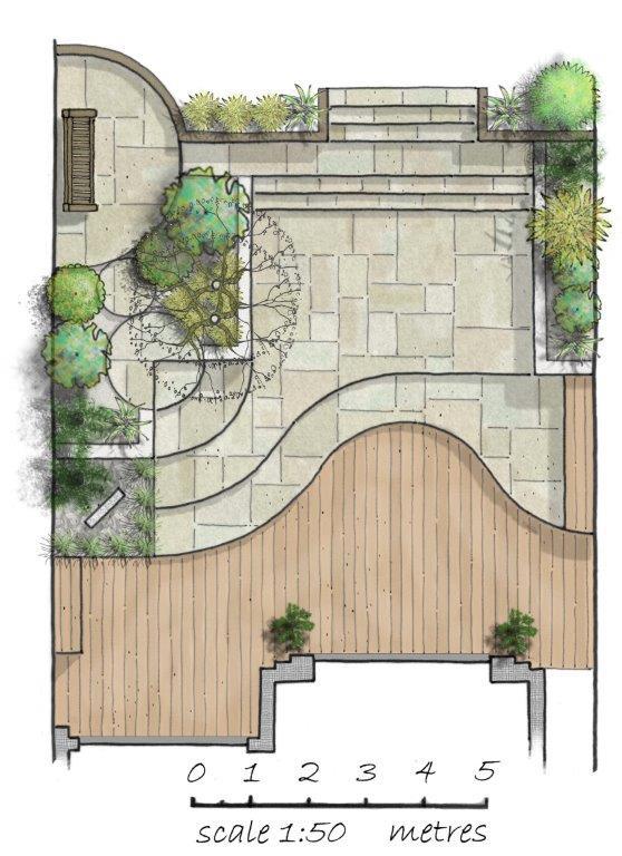 Art Deco Garden Design Home Designs Inspiration